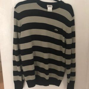 Lacoste men's sweater! Classy.Worn only once!